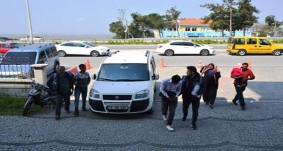 Biga'da Hırsızlık Yapan İki Şahıs Yakalandı