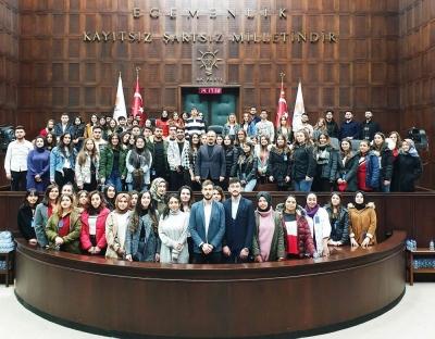 Bülent Turan, Kızılay Gönüllülerini Ağırladı