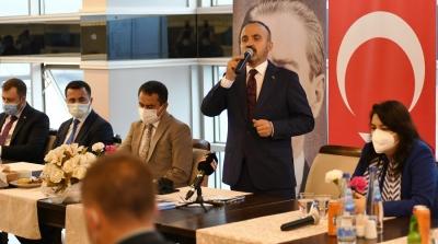 Bülent Turan: 'Şehrimizin her yerinde sanayinin güçlenmesi oldukça önemli'