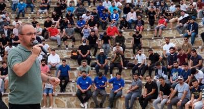 Bülent Turan : 'Tüm dünyaya sevgi ve kardeşlik yayan Anadolu burada'