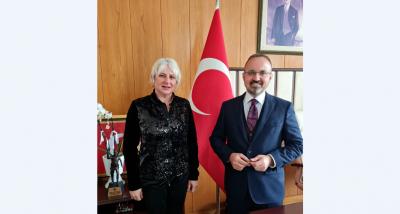 Bülent Turan'dan, Çanakkale'ye 4. Araç Köprü Müjdesi