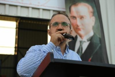 Bülent Turan'ın,10 Kasım Mustafa Kemal Atatürk'ü Anma Mesajı