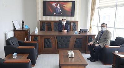 Çan Belediye Başkanı Bülent Öz, Vali İlhami Aktaş'ı Ziyaret Etti
