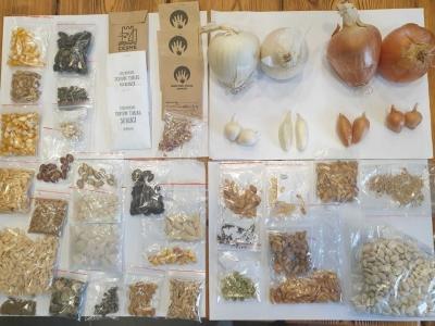 Çanakkale Belediyesi Tohum Sandığına Yoğun İlgi