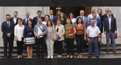 """Çanakkale Heyeti, """"Geleceğin Akıllı Şehirleri için Ortaklık Projesi"""" Kapsamında İspanya'nın Tarragona Kentinde İncelemelerde Bulundu."""