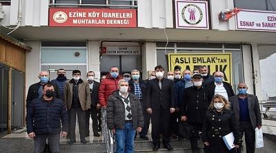 Çanakkale İŞKUR, Ezine'deki Köy Muhtarlarıyla İstihdam Toplantısında Bir Araya Geldi