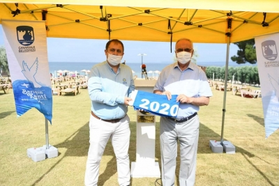 Çanakkale Plajlarında Bu Sene de Mavi Bayrak Dalgalanıyor