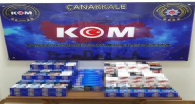 Çanakkale'de Kaçak Tütün Operasyonu
