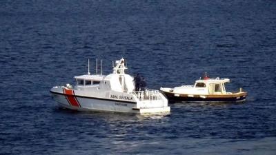 Çanakkale'de Sahil Güvenlik'ten Balıkçılara Denetim