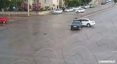 Çanakkale'deki kazalar, mobese kameralarında