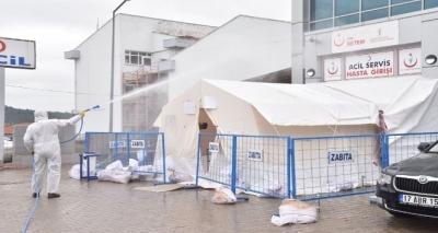 Çan'da Korona Virüse Sıkı Tedbir
