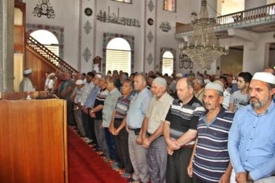 Çan'da Muhammed Mursi için gıyabi cenaze namazı