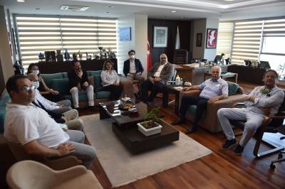 ÇASİAD Yönetiminden Başkan Gökhan'a Ziyaret
