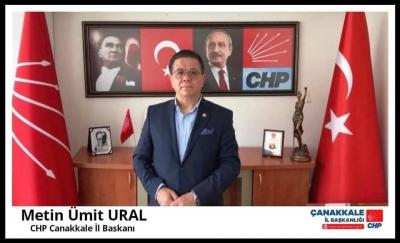 CHP Çanakkale İl Başkanı Ural'dan Basın Açıklaması