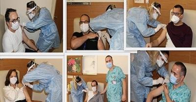 ÇOMÜ Hastanesinde Aşılamalar Başladı