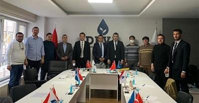 Deva Partisi Bölge Koordinatörü Metin Gürcan Çanakkale'de