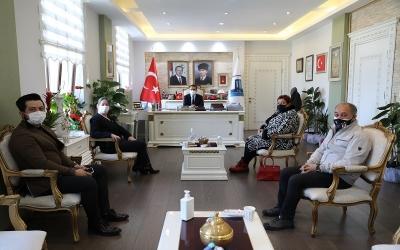 Etkinlik-Sen Çanakkale İl Yönetimi, Vali AKTAŞ'ı Ziyaret Etti