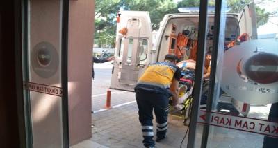 Ezine'de Trafik Kazası: 2 Yaralı
