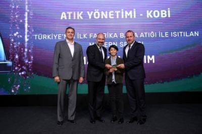 Fabrika Bacalarından Çıkan Su Buharı İle Isıtılan İlk Seraya Ödül
