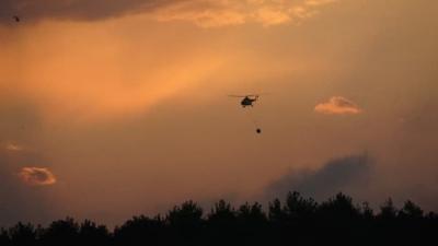 Gelibolu'da Orman Yangını 19 Saatte Kontrol Altına Alındı, 450 Hektar Alan Yandı