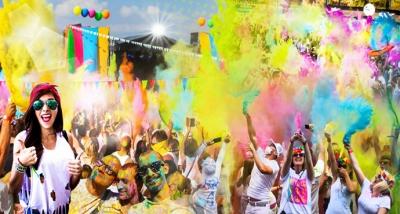Geyikli'de Color Fest Heyecanı Başladı