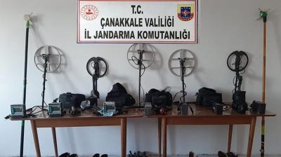 Kaçak Kazı Operasyonu: 17 Gözaltı