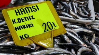 Karadeniz Hamsisinin Kilogram Fiyatında Düşüş Sürüyor