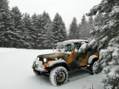 Kazdağları'nın Kar Yağışı Sonrası Eşsiz Güzellikleri Görüntülendi
