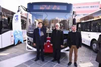 Kent İçi Toplu Taşıma Filosuna Yeni Araçlar Dahil Oldu