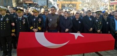 Kıbrıs Gazisi, Çanakkale'de Son Yolculuğuna Uğurlandı