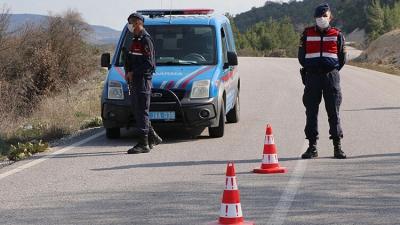 Koronavirüs Tespit Edilen Köy Karantinaya Alındı