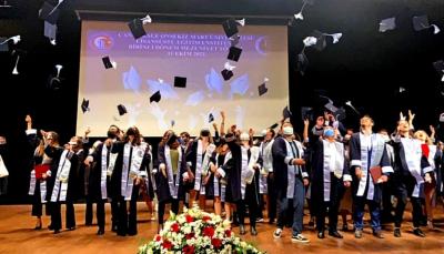 Lisanüstü Eğitim Enstitüsü 1. Dönem Mezuniyet Töreni Gerçekleştirildi