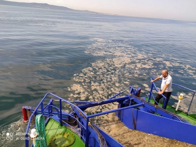 Mavi Körfez 3 Temizlik Çalışmalarına Başladı