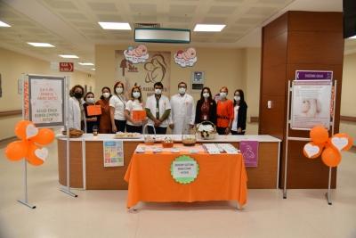 Mehmet Akif Ersoy Devlet Hastanesi'nde 'Dünya Emzirme Haftası' kutlandı