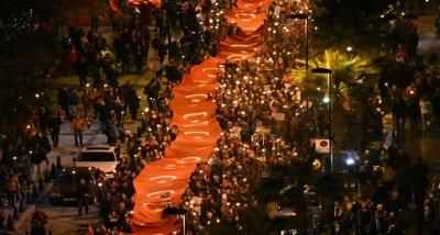 Meşaleler, 'Çanakkale Şehitleri' İçin Yandı