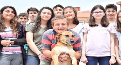 Öğrenciler Kanserli Köpeği Tedavi Ettirdi
