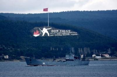 Rus Savaş Gemisi 'Orsk' Akdeniz'e İniyor