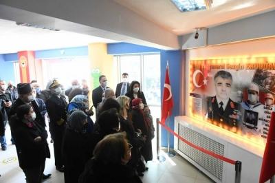 Şehit Tuğgeneral Erdoğan'ın İsmi Çanakkale'de Yaşayacak