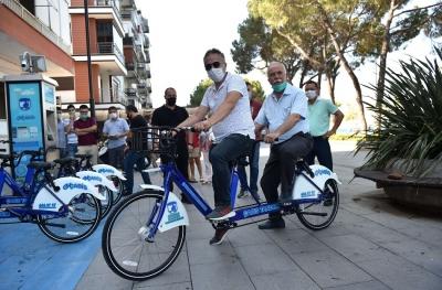Tandem Bisikletler Hizmette