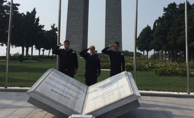 Tarihi Alan'daki Güvenlikçilerden 'Mehmetçiğe Selam Olsun' Videosu