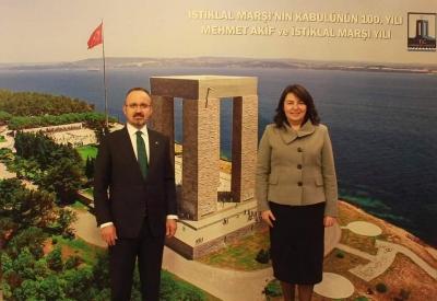 Turan ve İskenderoğlu'nun 18 Mart Şehitleri Anma Günü Mesajı