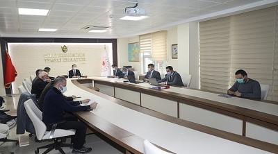 Vali Aktaş Başkanlığında Toprak Koruma Kurulu Toplantısı Yapıldı