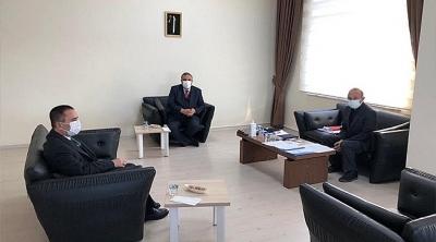 Vali AKTAŞ, ÇOMÜ Sağlık Uygulama ve Araştırma Hastanesi Başhekimliğini Ziyaret Etti