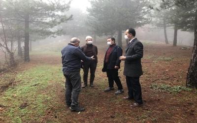 Vali İlhami Aktaş, Doğa Harikası Kazdağları'nda İncelemelerde Bulundu