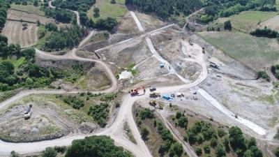 Yenice Kovancı Barajı'nda Çalışmalar Devam Ediyor