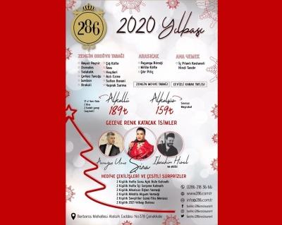 Yılbaşında Balıkçı 286'da Eğlenceye Hazır mısınız?