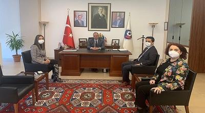 Ziraat Bankası Troya Şube Müdüründen Başkan Selçuk Semizoğlu'na Ziyaret